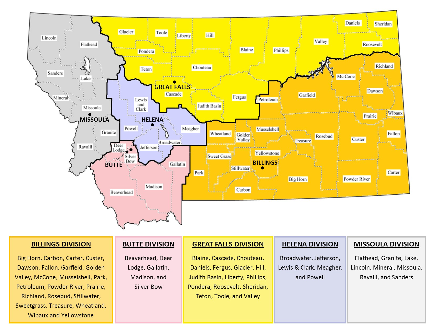 District Of Montana Profile District Of Montana United States - Us court districts map